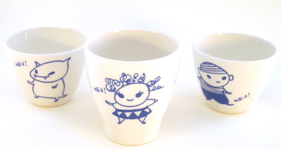 Cups by Nikko